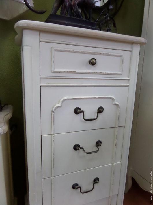 """Мебель ручной работы. Ярмарка Мастеров - ручная работа. Купить Тумбочка .Коллекция """"Жасмин"""". Handmade. Белый, прованс, для дома и интерьера"""