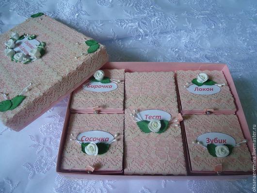 Подарки для новорожденных, ручной работы. Ярмарка Мастеров - ручная работа. Купить Мамины сокровища для девочки. Handmade. Бледно-розовый, handmade