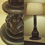Для дома и интерьера ручной работы. Ярмарка Мастеров - ручная работа Лампа настольная из ясеня 1. Handmade.