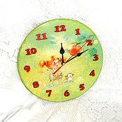 Для дома и интерьера handmade. Livemaster - original item Watch Red summer. Handmade.