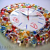 Для дома и интерьера handmade. Livemaster - original item Bright clocks