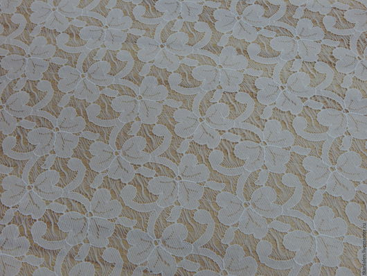 """Шитье ручной работы. Ярмарка Мастеров - ручная работа. Купить - 15% Ткань гипюр """"белый"""", Италия. Handmade. Белый"""