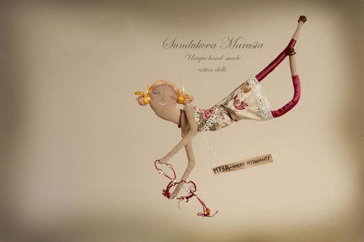 """Ароматизированные куклы ручной работы. Ярмарка Мастеров - ручная работа. Купить """"Муза"""" - авторская кофейная куколка. Handmade. Муза"""