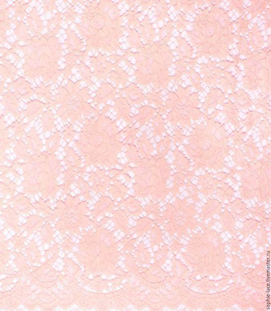 Шитье ручной работы. Ярмарка Мастеров - ручная работа. Купить Хлопковое кружево Valentino Peche от Sophie Hallette. Handmade. Кремовый