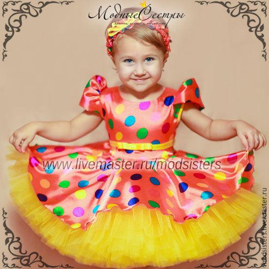 Baby dress 'Colorful season' Art.-366, Childrens Dress, Nizhny Novgorod,  Фото №1