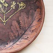 """Посуда ручной работы. Ярмарка Мастеров - ручная работа Керамическое блюдо """"Июнь"""". Handmade."""
