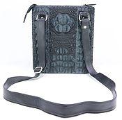 Сумки и аксессуары handmade. Livemaster - original item Textured leather bag crocodile IMA0644B1. Handmade.