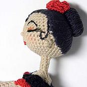 Куклы и игрушки ручной работы. Ярмарка Мастеров - ручная работа Кармен. Каркасная кукла.. Handmade.
