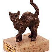 Для дома и интерьера handmade. Livemaster - original item Cat. Figurine. Miniature. Figure. Souvenir. Gift.. Handmade.