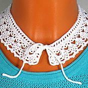 handmade. Livemaster - original item Crochet collar. Handmade.
