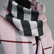 Аксессуары handmade. Livemaster - original item Woven scarf. Merino. Hand weaving.. Handmade.