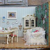 Куклы и игрушки ручной работы. Ярмарка Мастеров - ручная работа Французский шик. Столовая.. Handmade.