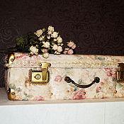 Сумки и аксессуары handmade. Livemaster - original item Suitcase jacquard (5). Handmade.