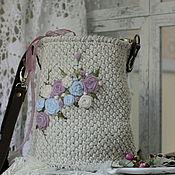 Сумки и аксессуары handmade. Livemaster - original item Crossbody bag: AT DAWN. Handmade.