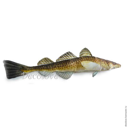 Подарки для мужчин, ручной работы. Ярмарка Мастеров - ручная работа. Купить рыба Треска подарок мужчине на день рождения подарок рыбаку. Handmade.