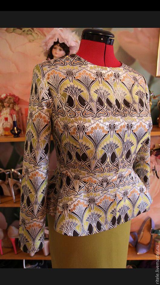 """Пиджаки, жакеты ручной работы. Ярмарка Мастеров - ручная работа. Купить Жакет """"Lady D"""". Handmade. Платье, пиджак"""