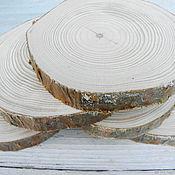 Природные материалы ручной работы. Ярмарка Мастеров - ручная работа Спил сосны. Около 10 см. Handmade.