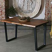 Столы ручной работы. Ярмарка Мастеров - ручная работа Стол из слэбов live edge. Handmade.
