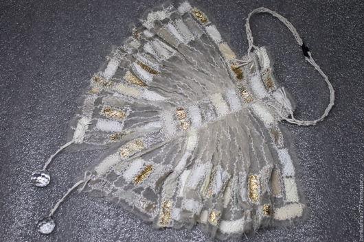 Галстуки, бабочки ручной работы. Ярмарка Мастеров - ручная работа. Купить Жабо и манжеты  из натуральной кожи и органзы handmade. Handmade.