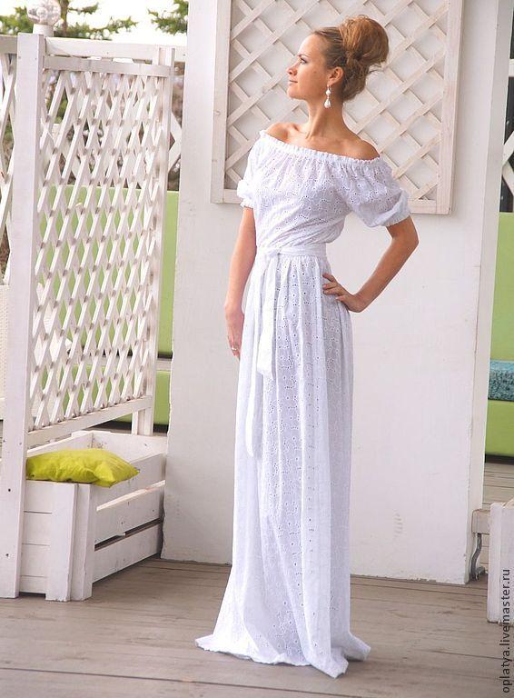 Платье в пол на лето купить