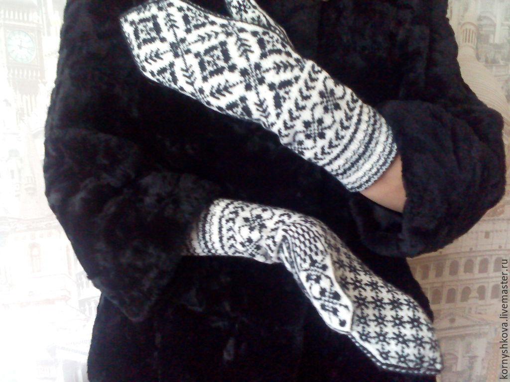 Mittens wool handmade, Mittens, Saransk,  Фото №1