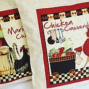 """Для дома и интерьера ручной работы. Ярмарка Мастеров - ручная работа Наволочка  """"Chicken"""". Handmade."""