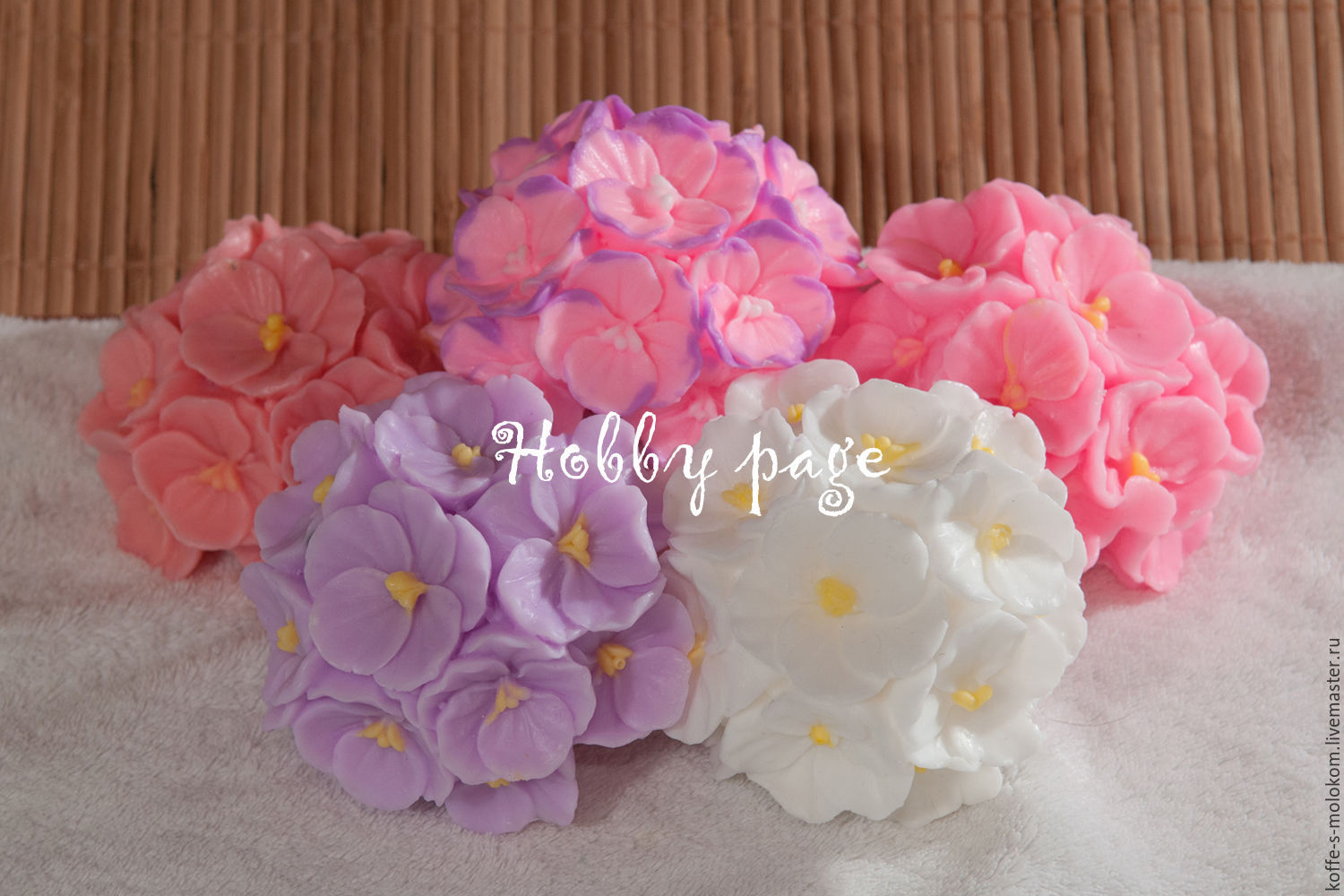 Silicone Molds For Soap Bouquet Of Orchids Shop Online On