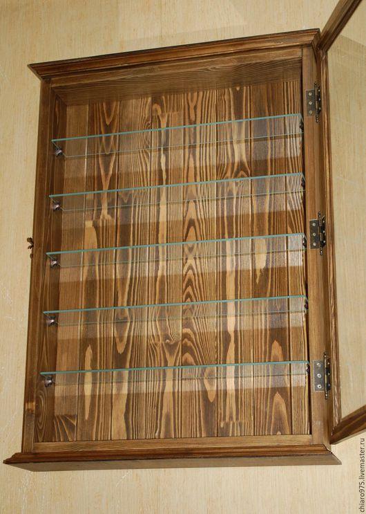 Мебель ручной работы. Ярмарка Мастеров - ручная работа. Купить Шкаф - витрина для коллекций.. Handmade. Шкаф из дерева, витрина для колокольчиков