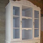 Для дома и интерьера handmade. Livemaster - original item The buffet Cabinet in the style of Provence from solid cedar. Handmade.