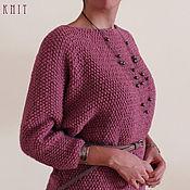 Одежда handmade. Livemaster - original item Knitted mohair dress