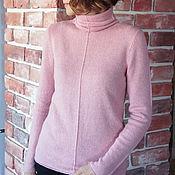 Одежда handmade. Livemaster - original item Cashmere sweater Rose. Handmade.