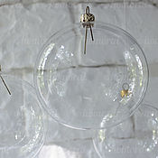Материалы для творчества manualidades. Livemaster - hecho a mano Bola de 100 mm de cristal de la pieza. Handmade.