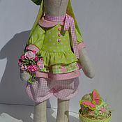 Куклы и игрушки ручной работы. Ярмарка Мастеров - ручная работа Весенняя Зая. Handmade.