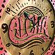 Часы для дома ручной работы. Часы настенные Алоха Лава. WOODANDROOT. Ярмарка Мастеров. Подарок, острова, акриловая краска, фанера