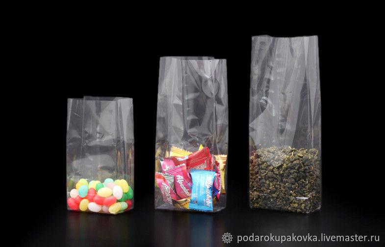 Пакеты объемный 60х200х40 мм, Пакеты, Москва, Фото №1