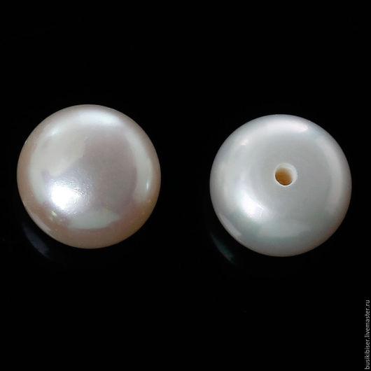 Для украшений ручной работы. Ярмарка Мастеров - ручная работа. Купить Бусины из натурального белого жемчуга 8.5мм - 8мм. Handmade.
