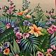 Цветы тропические - 87 Декупажная радость