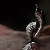 Украшения handmade. Livemaster - original item Set of porcelain brooches from the