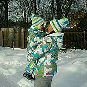 Работы для детей, ручной работы. Ярмарка Мастеров - ручная работа Комбинезон детский утепленный. Handmade.