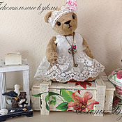 Куклы и игрушки ручной работы. Ярмарка Мастеров - ручная работа Мишка тедди Лизонька.. Handmade.