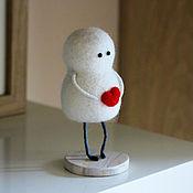 Куклы и игрушки ручной работы. Ярмарка Мастеров - ручная работа Мой ангел (фигурка из шерсти). Handmade.