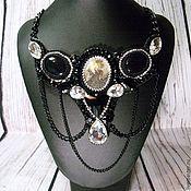 Украшения handmade. Livemaster - original item Necklace black cameo