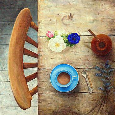 Картины и панно ручной работы. Ярмарка Мастеров - ручная работа Утро. Handmade.