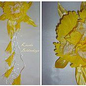 Украшения ручной работы. Ярмарка Мастеров - ручная работа комплект орхидея. Handmade.
