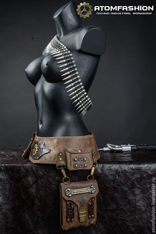 """Пояса, ремни ручной работы. Ярмарка Мастеров - ручная работа. Купить Пояс кожаный  """"Арканум"""". Handmade. Пояс кожаный, кожа"""