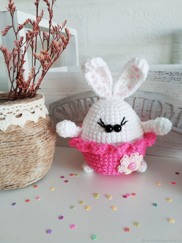 Easter souvenirs knitted bunny crochet handmade amigurumi, Easter souvenirs, Novokuibyshevsk,  Фото №1