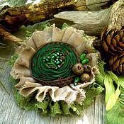 """Украшения ручной работы. Ярмарка Мастеров - ручная работа Брошь """" На лесной тропинке"""". Handmade."""