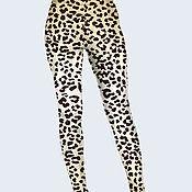 """Одежда ручной работы. Ярмарка Мастеров - ручная работа Лосины """"Леопард-2"""". Handmade."""