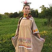 Одежда ручной работы. Ярмарка Мастеров - ручная работа Этно-образ Сказочницы,костюм карнавальный, платье для жизни,фотосессии. Handmade.