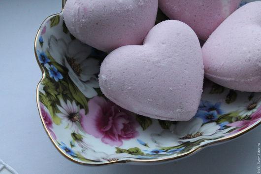 Бомбы для ванны ручной работы. Ярмарка Мастеров - ручная работа. Купить Бомбочка для ванны Роза. Handmade. Бледно-розовый